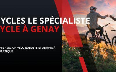 Le pro du vélo se trouve à Genay !
